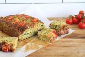A zucchini bread